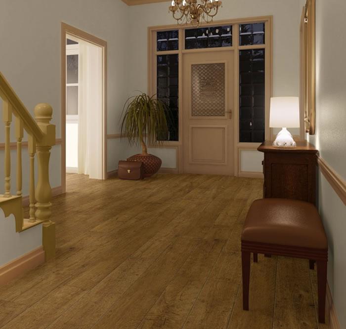 Flooring centre hardware heaven for Harvest oak laminate flooring