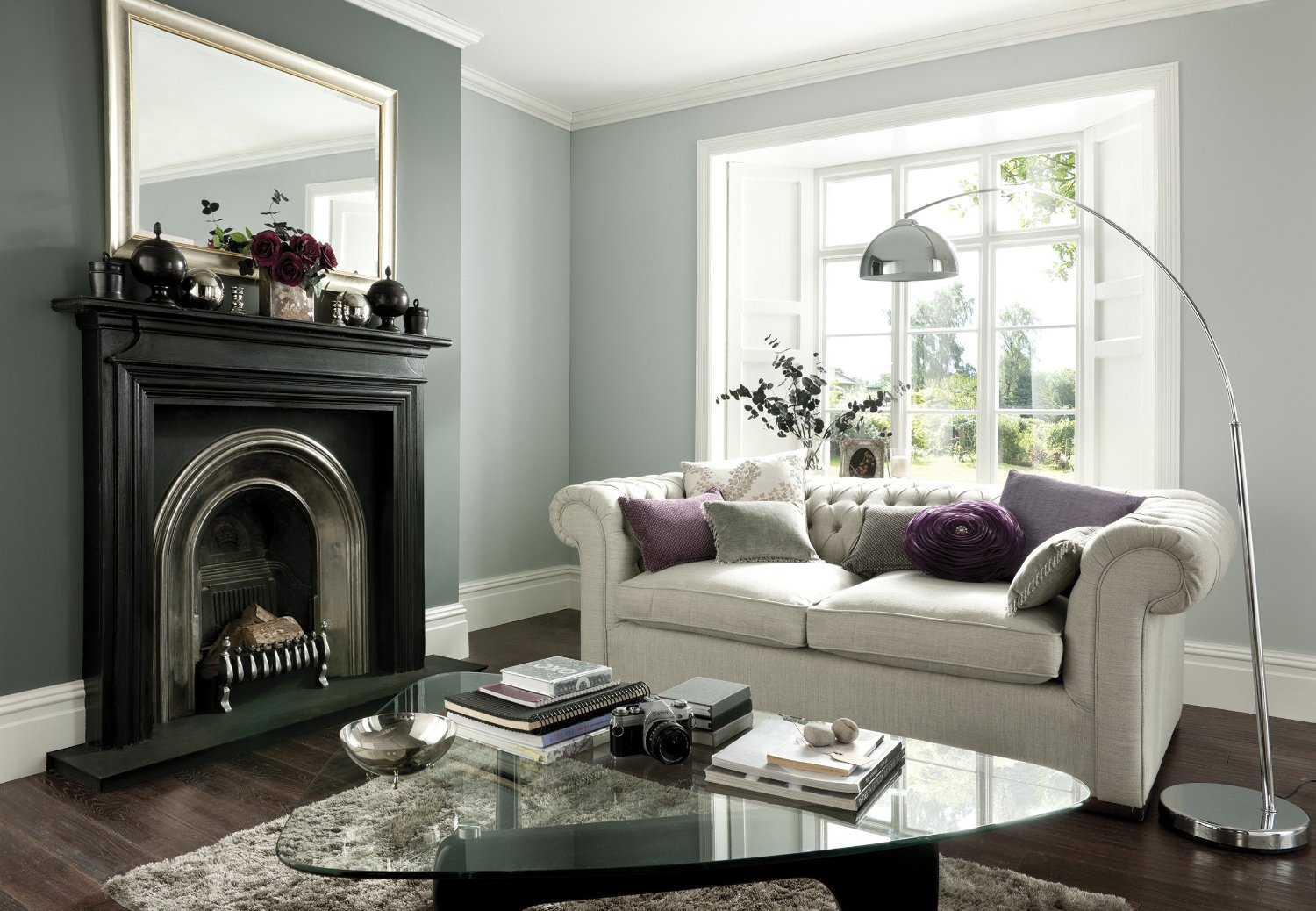 Johnstone S Kitchen Bathroom Paint Silver Feather