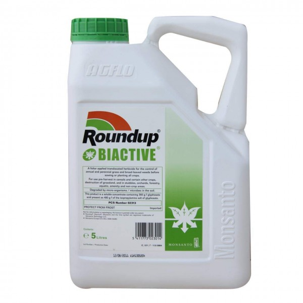 roundup pro biactive 450 mixing instructions
