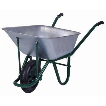 100lt galvanized wheelbarrow