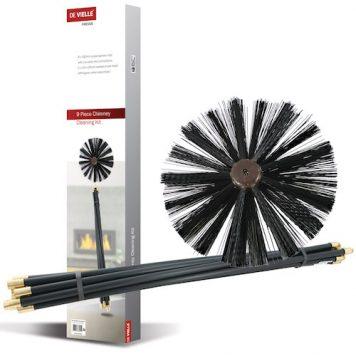 chimley brush set