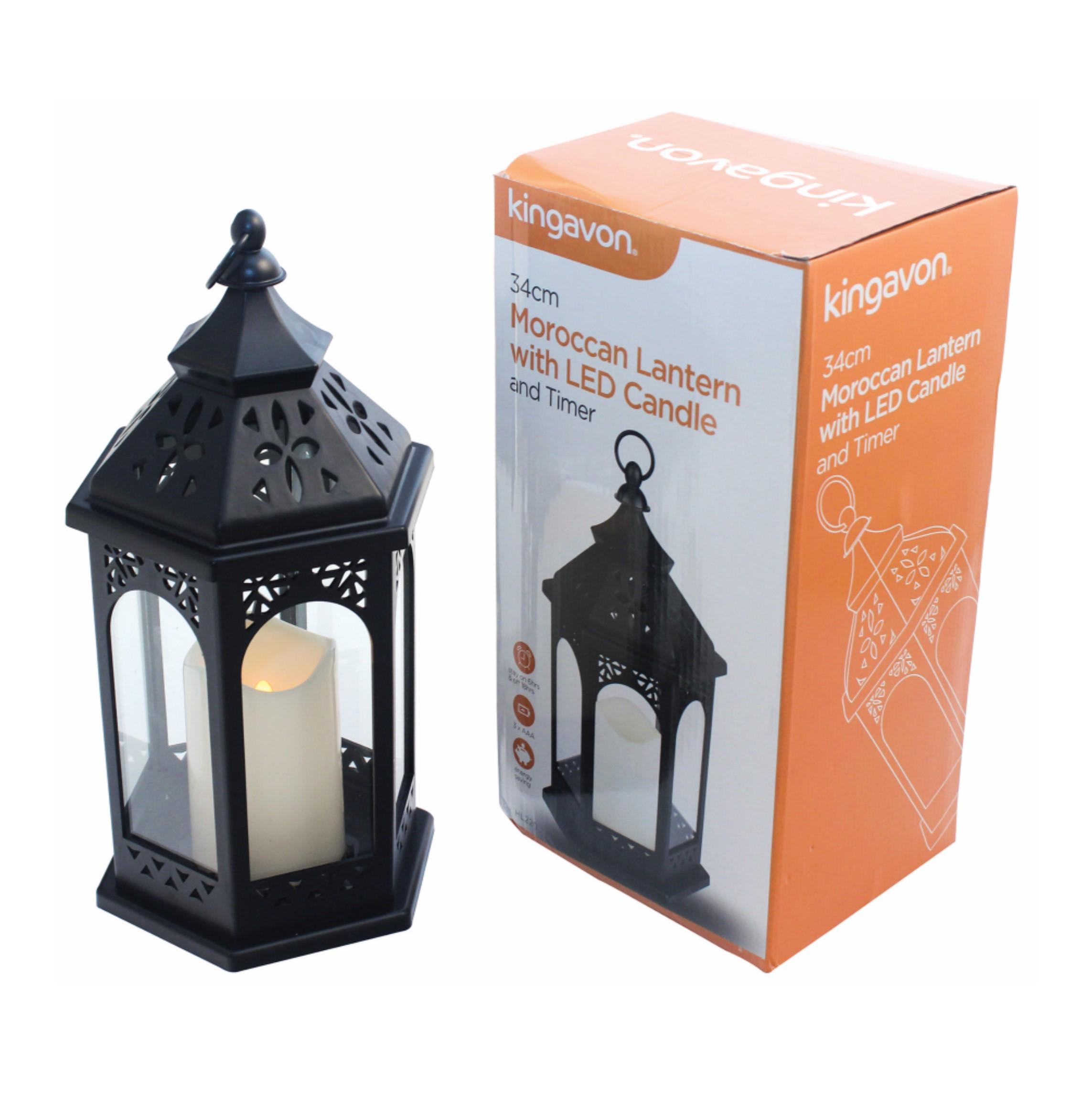 moroccan led lantern hl220