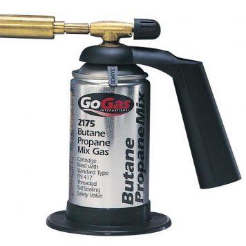 gosysyem blow torch with gas cartridge