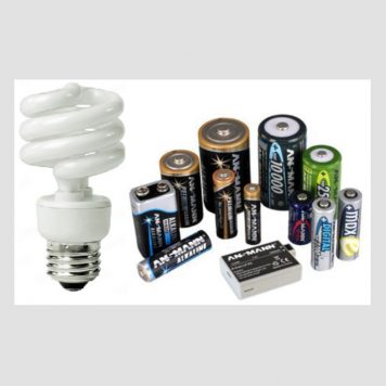 Light Bulbs & Batteries